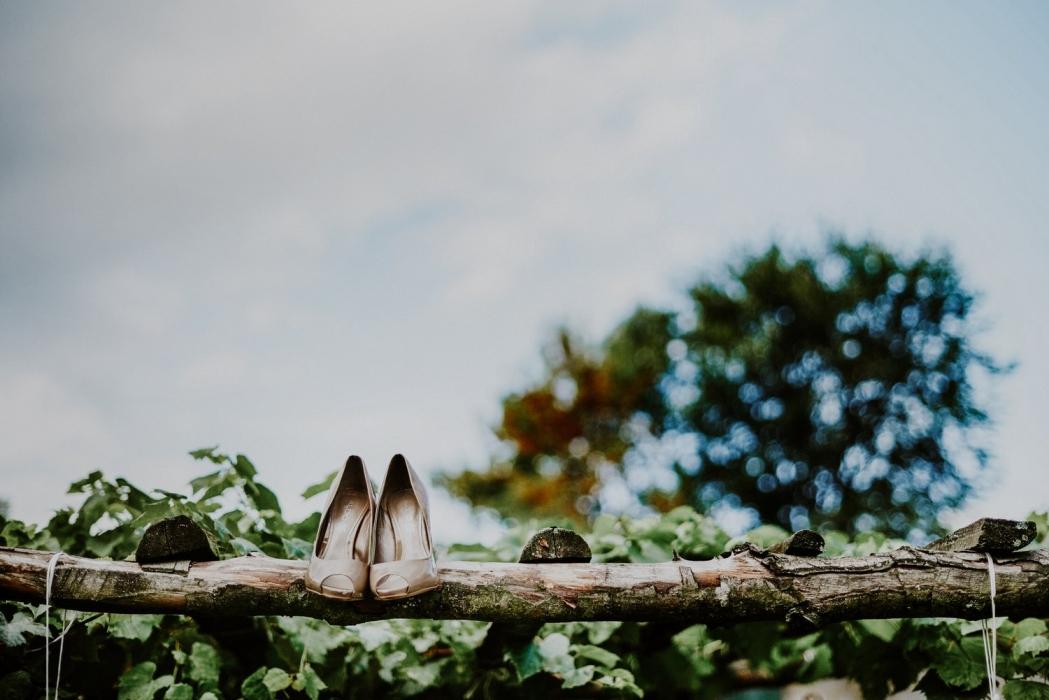 buty ślubne, rustykalny ślub