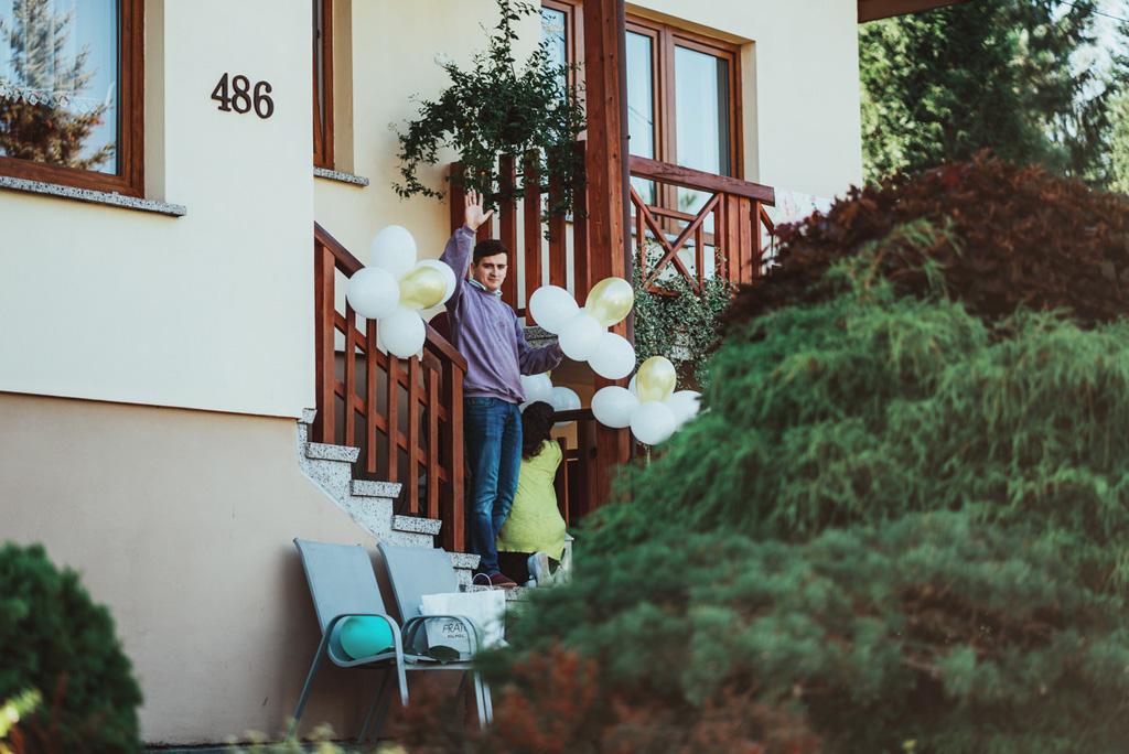 villa love ślub, detale, przygotowania