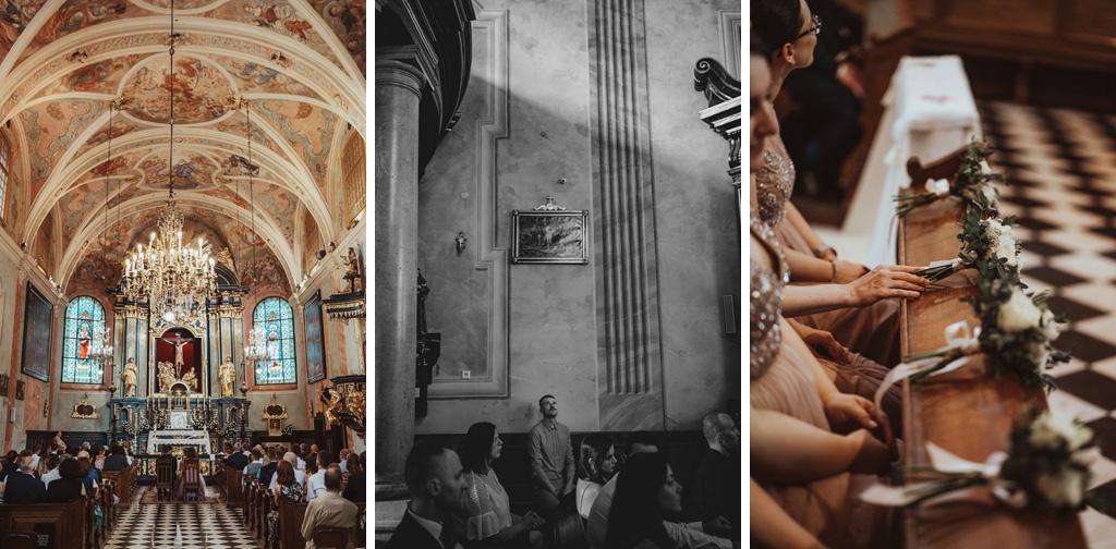 kościół św. Barbary ślub