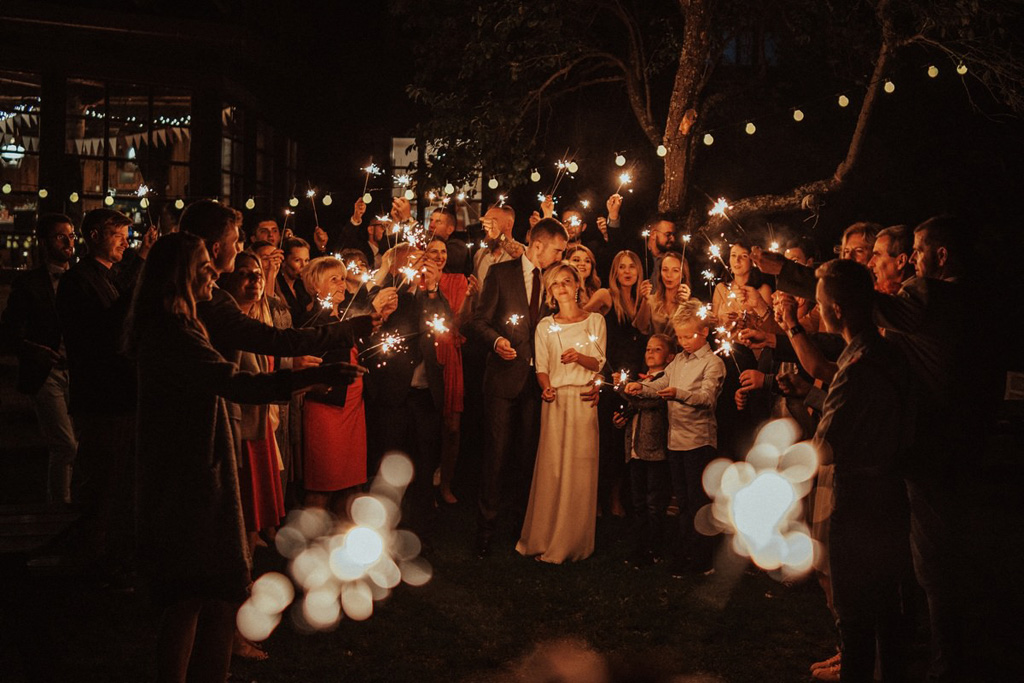 willa tadeusz, przyjęcie ślubne
