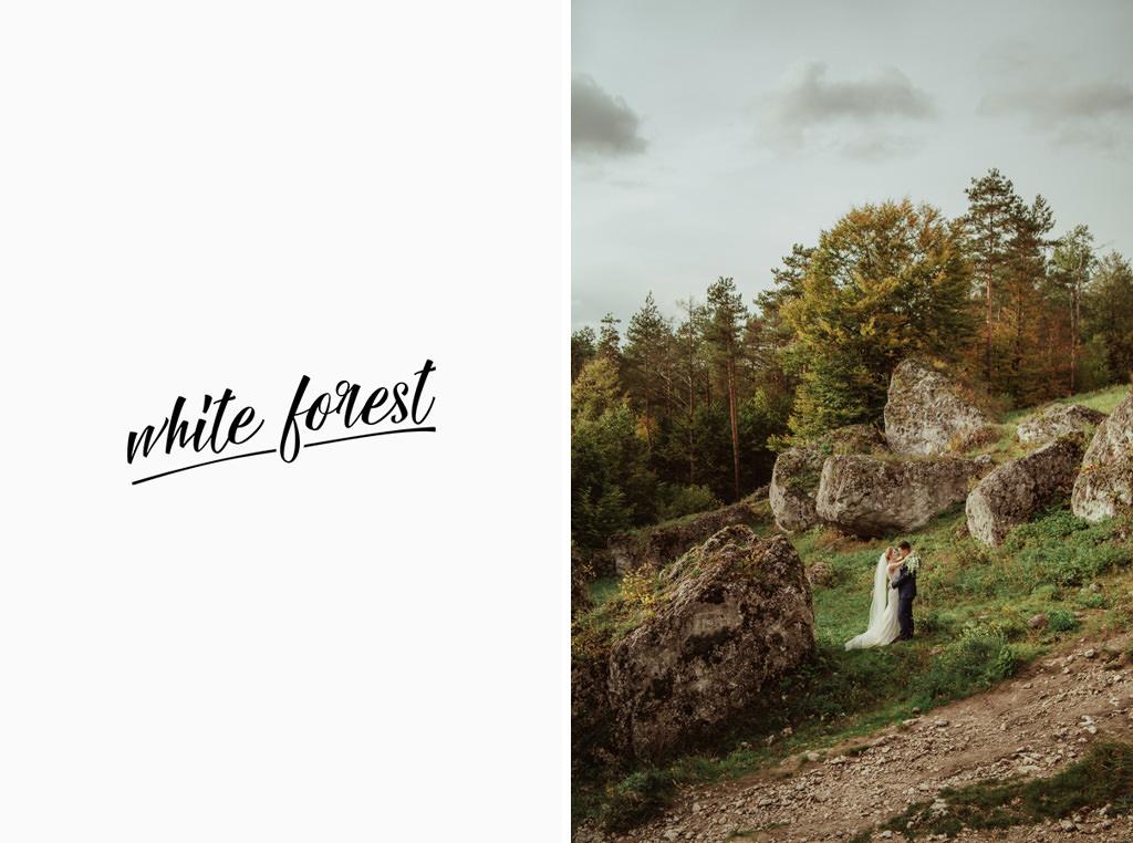 whiteforest – naturalna fotografia ślubna